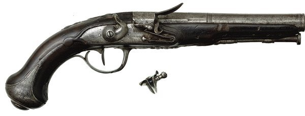 73: French Flintlock Pistol