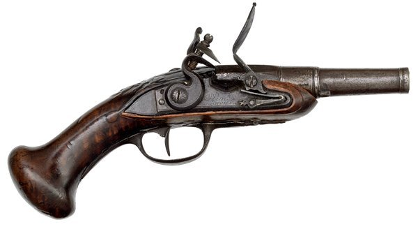 75: Small French Flintlock Pistol