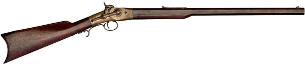 87: H. Gent Prototype Rotating breech Percussion Rifle