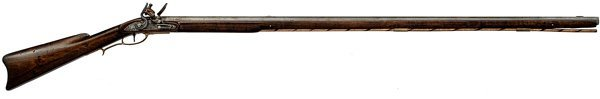 93: Full-Stock Flintlock Rifle by Fondersmith