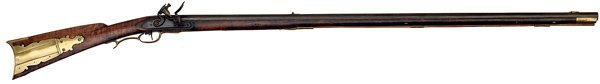 94: Flintlock Kentucky Rifle,