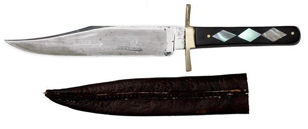 137: English Bowie Knife