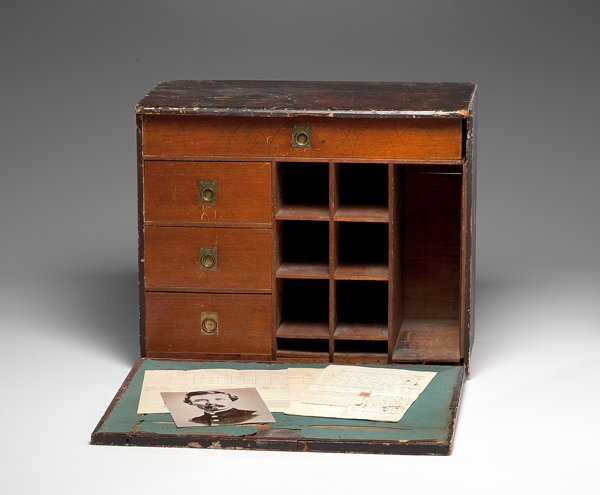 149: 156th NY Civil War Field Desk of Charles W. Kenned