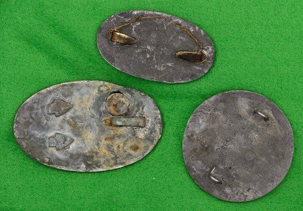 150: US Civil War Belt Plates Lot of Three - 2
