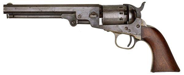 186: Manhattan Percussion Revolver - 2