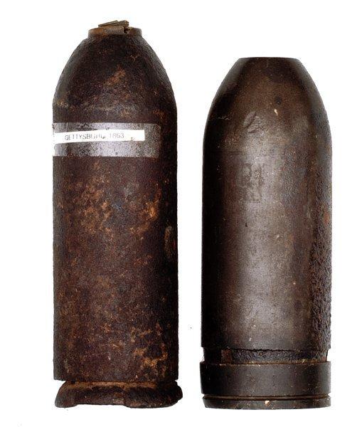 218: Civil War Parrott Shell and Stafford Shell