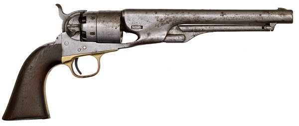 273: Colt Model 1860 Army Percussion Revolver