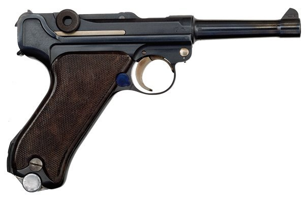 512: *WWII German P08 Krieghoff Luger Pistol with Holst - 2