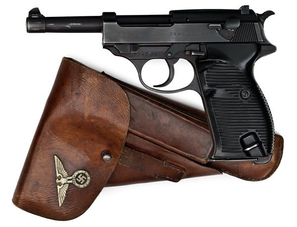 513: *WWII Nazi German P38 Pistol by Walther