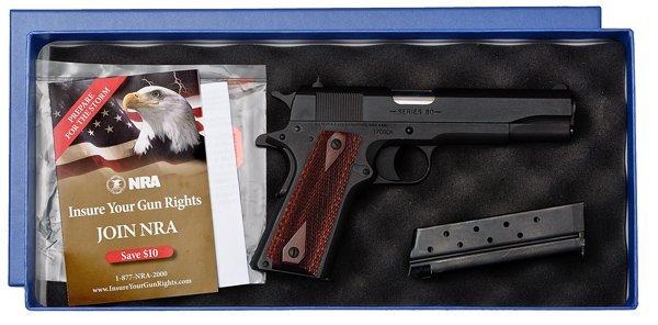 640: *Colt 1991A1 OGCA Commemorative Semi-Auto Pistol