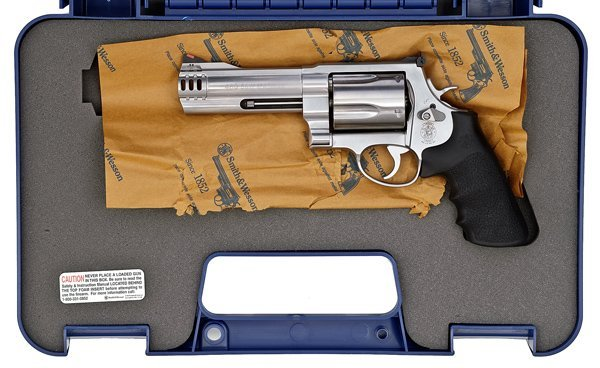 666: *Smith & Wesson Model 460 Double-Action Revolver