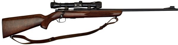 687: *Winchester Model 75 Sporter Bolt Action Rifle wit