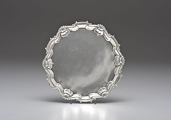 6: George II Sterling Salver