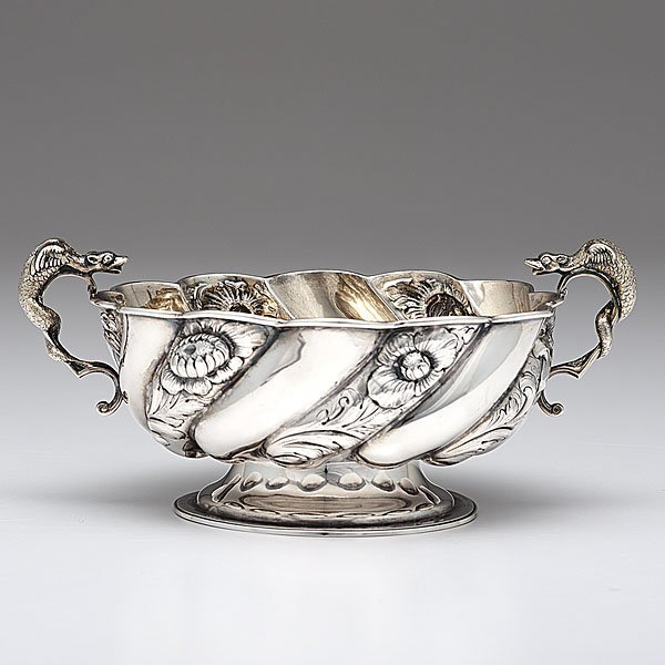 19: Edwardian  Sterling Silver Bowl