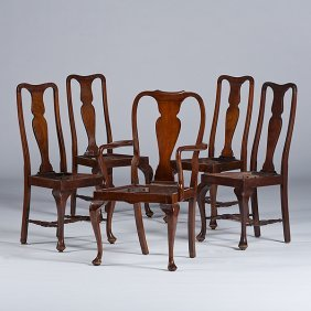 Queen Anne-style Chairs