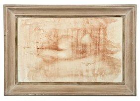 Pietro Annigoni (Italian, 1910-1988), Nude Study