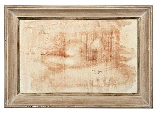 87: Pietro Annigoni (Italian, 1910-1988), Nude Study