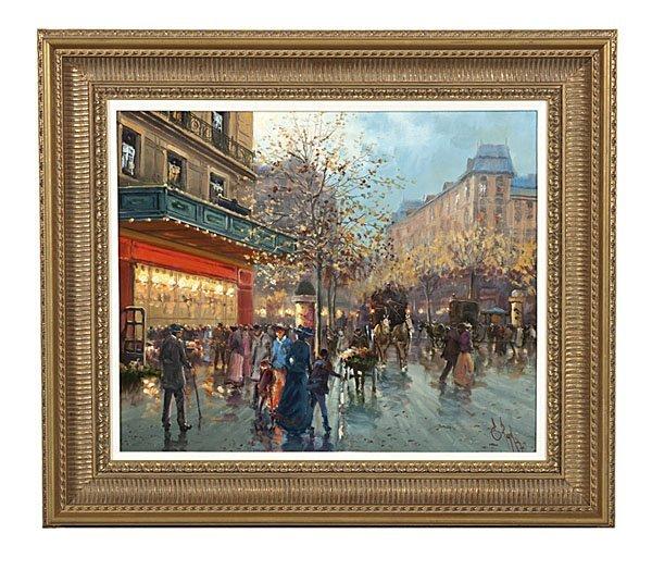 88: Emilio Payes Carranza (French, b. 1935), Parisian S