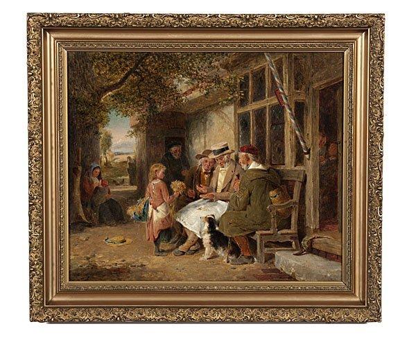 89: George Bernard O'Neill (Irish, 1828-1917), Genre Sc