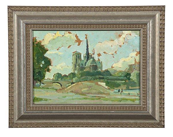 92: Jean de la Fontinelle (French, 1900-1974), Notre Da