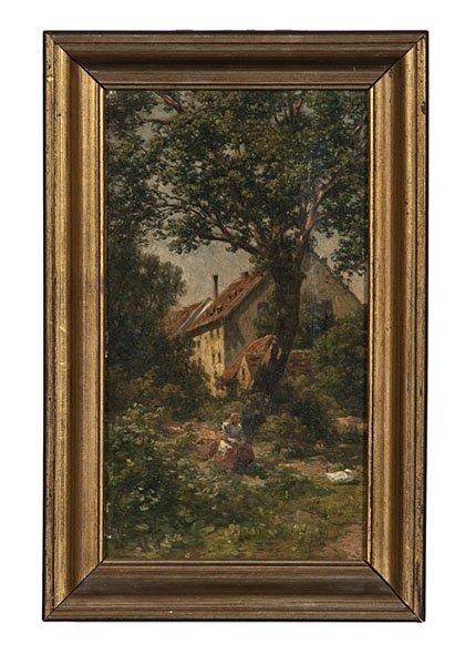 93: Hugo Charlemont (French, 1850-1939), Landscape