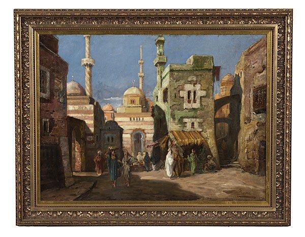 95: Heinz Pinggera (Italian/German, 1900-?), Moroccan C