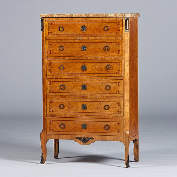 101: Louis XV-style Chest of Drawers