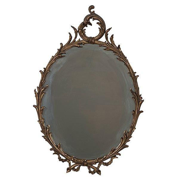 105: Continental Rococo-Style  Mirror