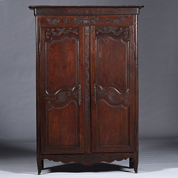 106: French Provincial Armoire