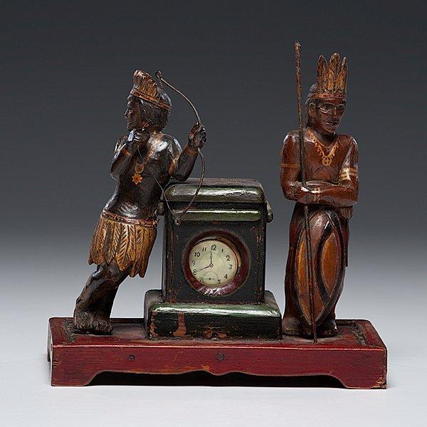 230: Indian Folk Art Watch Hutch