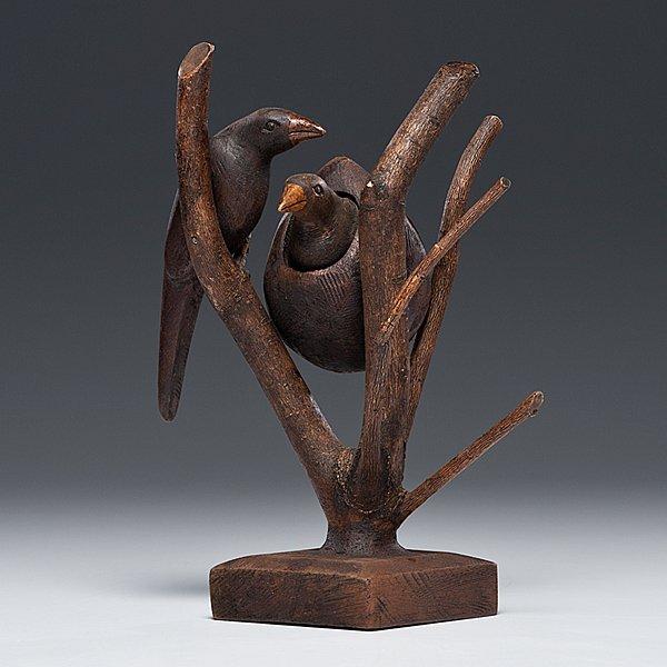 237: Folk Art Bird Tree