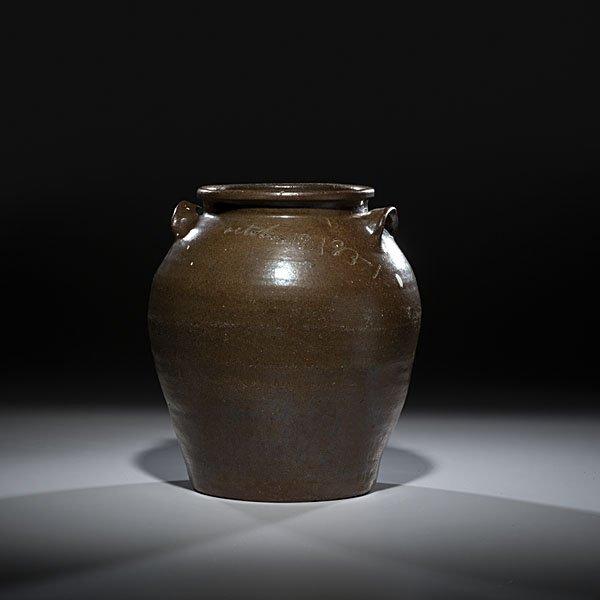 238: Dave (Slave Potter) Edgefield, Three Gallon Jar