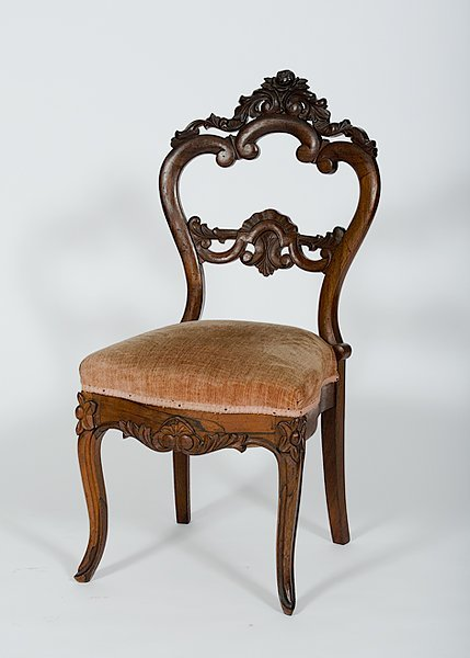 Rococo Revival Side Chair