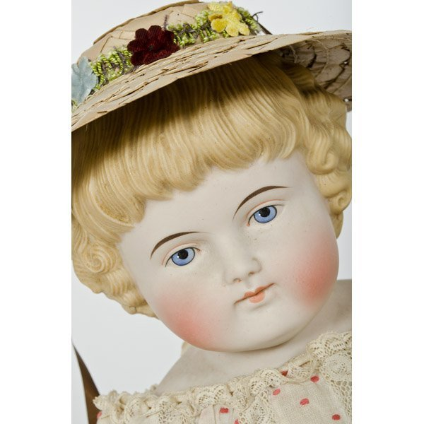 308: China Head Doll  - 2