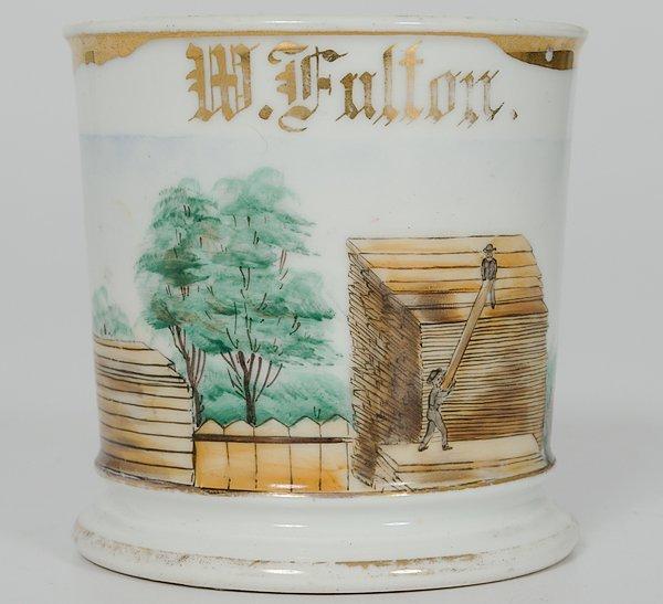 6: Lumber Yardman's Occupational Shaving Mug