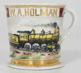 Locomotive Engineer's Occupational Shaving Mug�