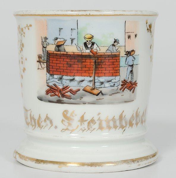 49: Brick Layer's Occupational Shaving Mug