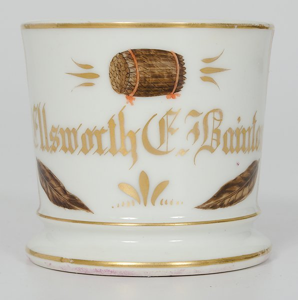 51: Tobacconist's Occupational Shaving Mug