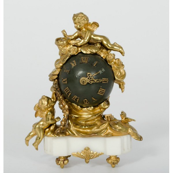 65: French Orb Clock