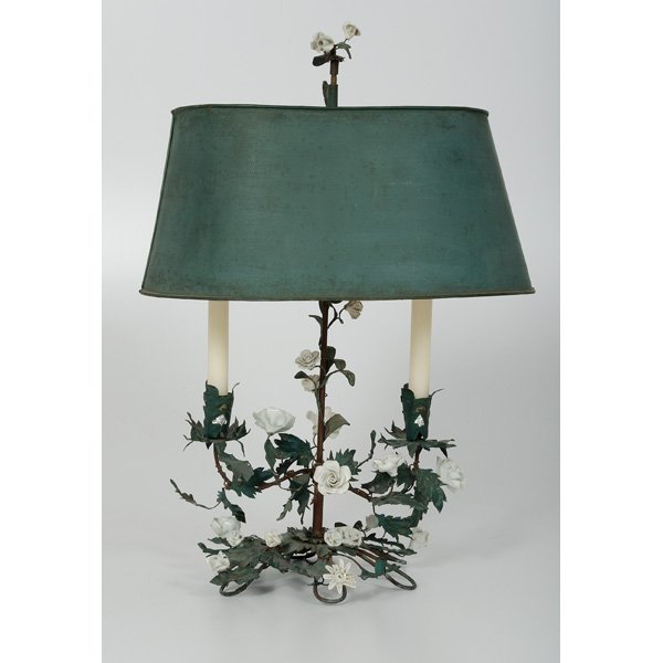 67: French Bocage Lamp