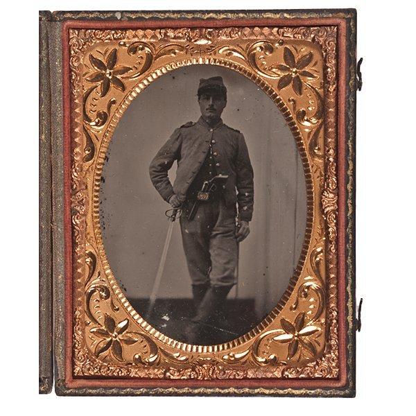 7: Sgt. George F. Masson, 5th VA Cavalry, Ambrotype