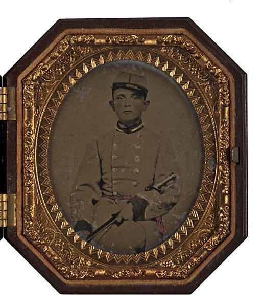 10: Confederate Lieut. Samuel Rice, 27th VA Infy, Ambro