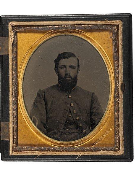 12: Confederate Lieut. Ambrotype by Whitehurst, Norfolk