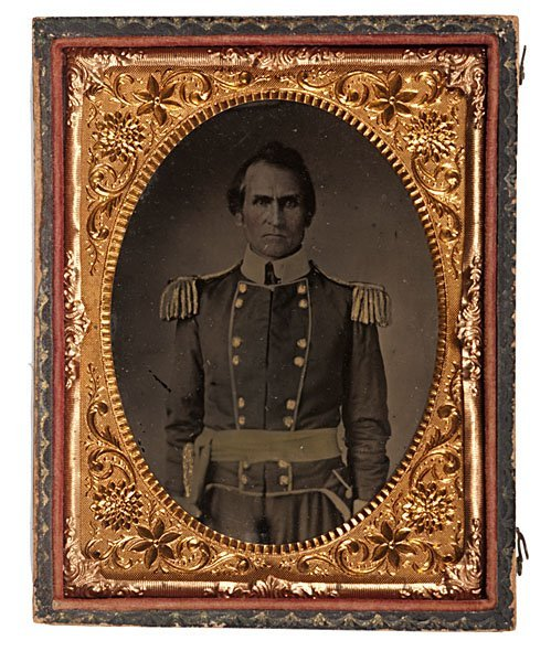 15: Tennessee Militia General Stephen H. Bass, Tintype