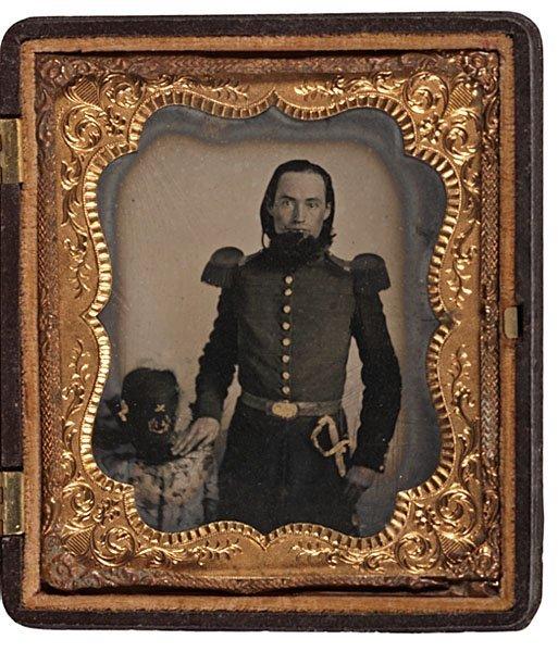 16: Liberty Guards North Carolina Volunteer, Tintype