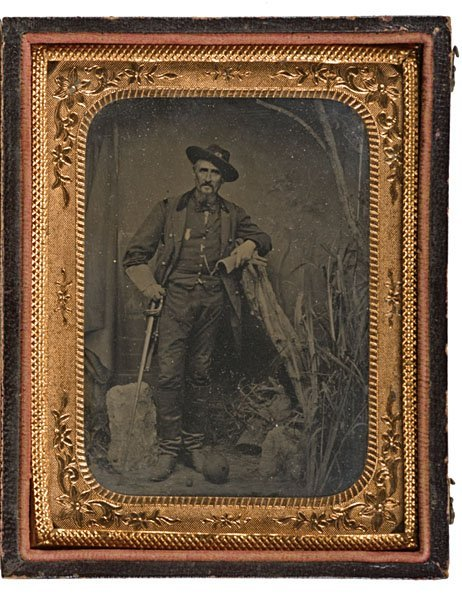 18: Regis de Trobriand, 55th NY, Bvt Brig. Genl. Tintyp