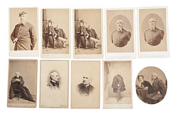 19: Regis de Trobriand, Brevet Major General, CDVs