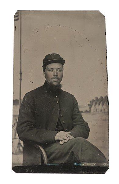22: Lt. Thomas Tarbell, 2nd USSS, DOW Civil War Tintype