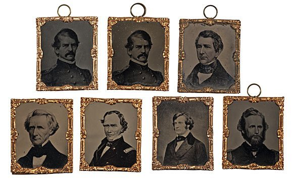 24: Fine Group of Abbottypes of Civil War Personalities
