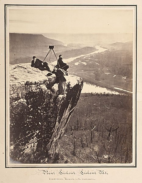 42: Robert Linn with his Stereoview Camera, Lookout Mt.